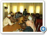 Addressing HealthCare personnels at Katsina State....2