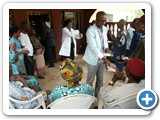 Health Education during outreach....Ntigha
