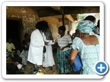 Health Education during outreach...5