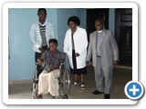 Patient in Wheelchair...Ntigha
